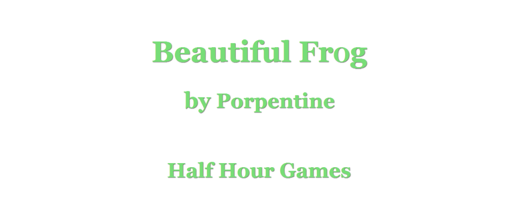 Beautiful Frog 01