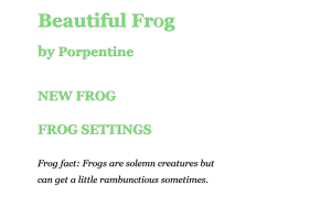 Beautiful Frog 02