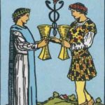 OCCULT: DAILY DRAW – Two of Cups