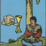 OCCULT: Daily Draw – Four of Cups