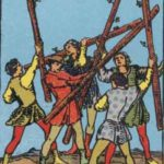 OCCULT: DAILY DRAW – Five of Wands