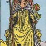 OCCULT: DAILY DRAW – Queen of Wands