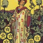 OCCULT: Daily Draw – Nine of Pentacles