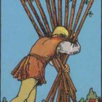 OCCULT: DAILY DRAW – Ten of Wands