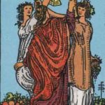 OCCULT: DAILY DRAW – Three of Cups